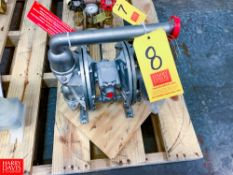 NEW All-Flo S/S Diaphragm Pump Rigging Fee: $ 40