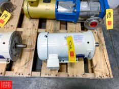 NEW Baldor 5 HP 1,750 RPM Motor Rigging Fee: $ 40