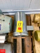 NEW Baldor S/S Clad Motor, Approx. 15 HP Rigging Fee: $ 40