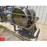 350 Pound Capacity S/S Rotary Butter Churn with 2 HP Motor and Lenze AC Tech Variable Frequency