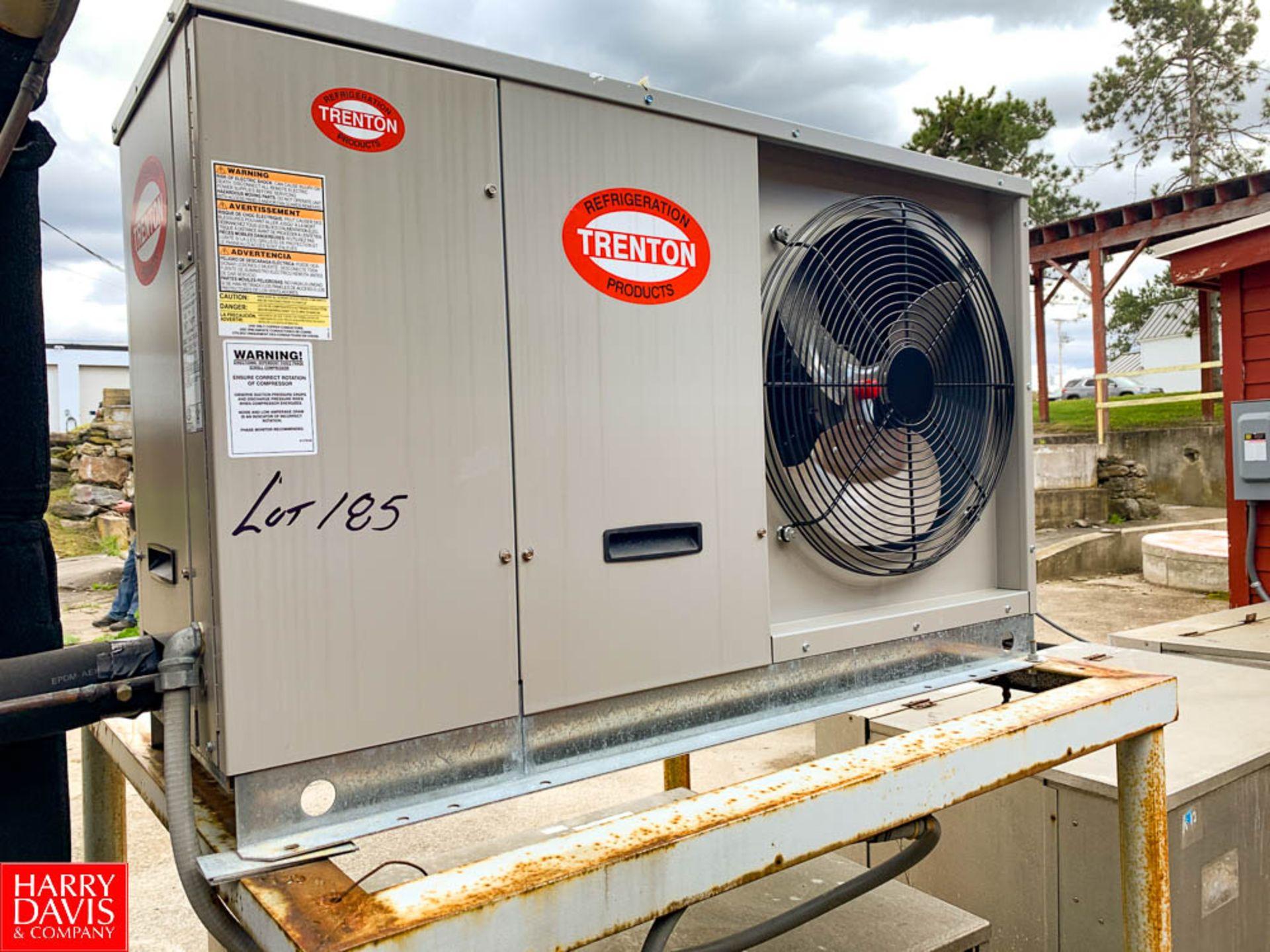 Trenton Condensing Unit Model: TQZA03H8-HT3A-DB, S/N: 182100628, Air Cooled