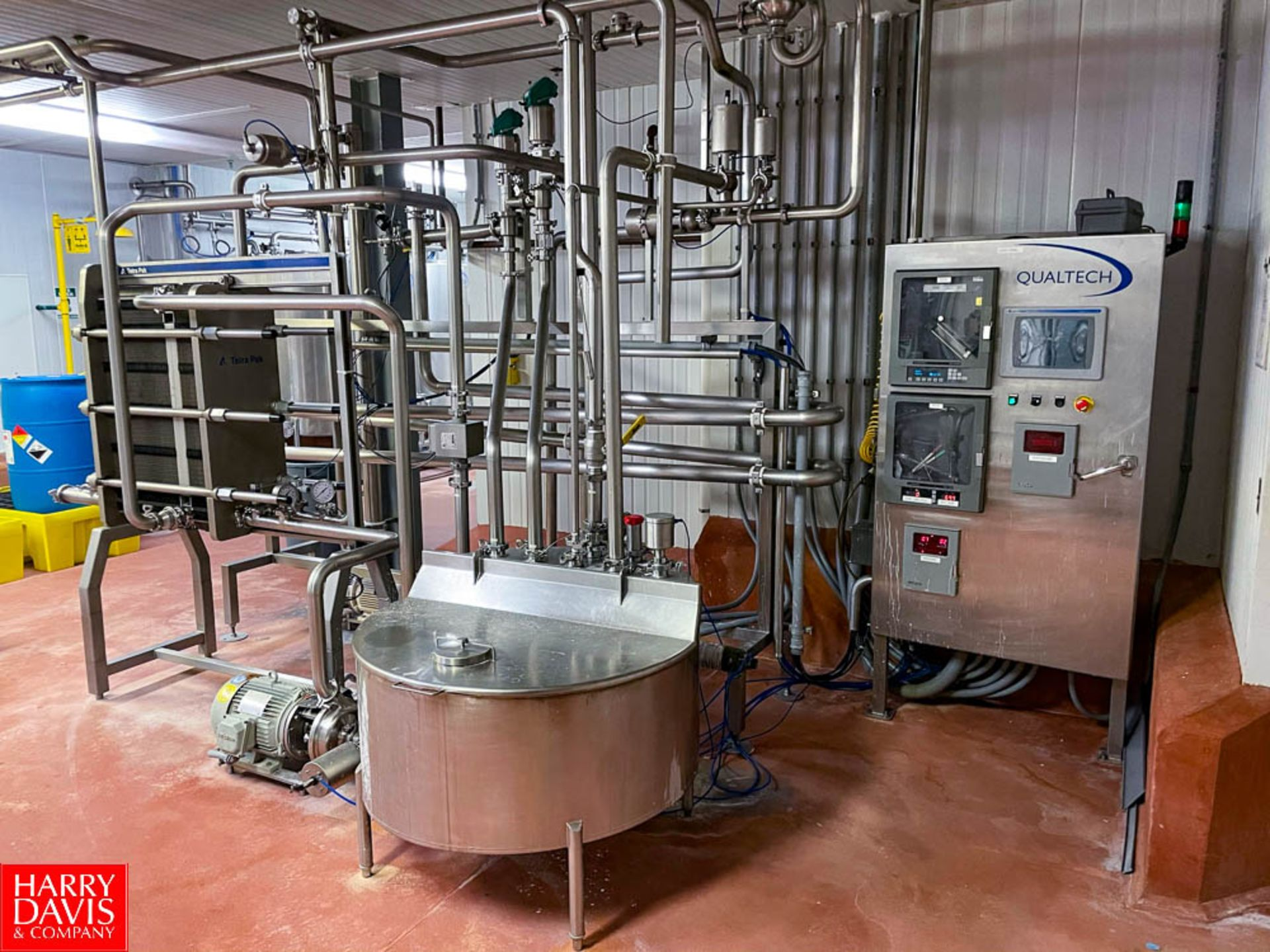 2008 Tetra Pak 36 GPM Pasteurizer Including Tetra Pak 3-Zone S/S Frame Plate Heat Exchanger, S/S - Image 2 of 6