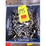 """2"""" S/S Clamps"""