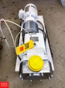 G & H Positive Displacement Pump, Model: GHPD-532, with S/S Clamp Type Head, Located in:Rutland