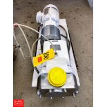 G & H Positive Displacement Pump, Model: GHPD-532, with S/S Clamp Type Head