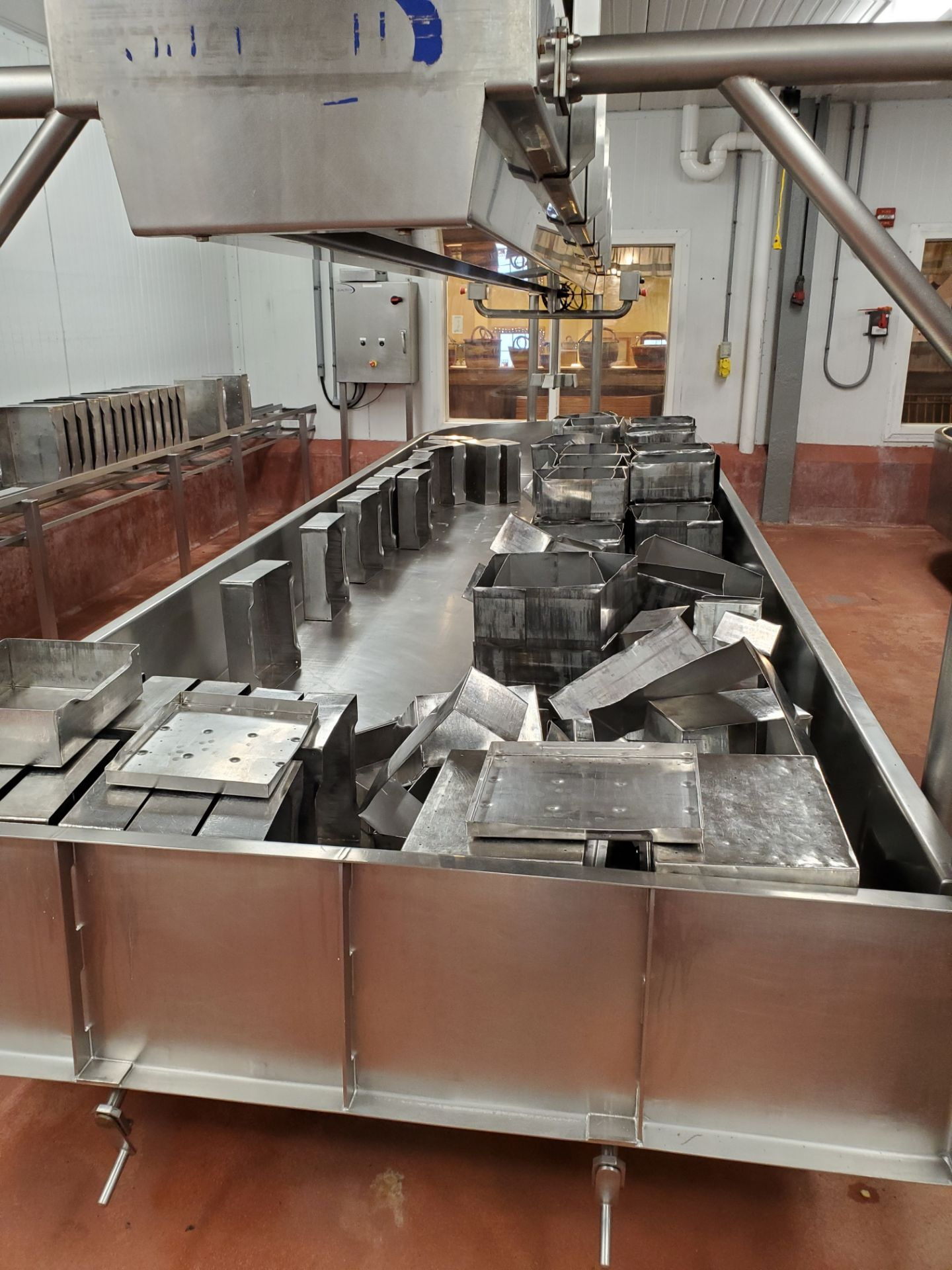 2008 Qualtech 2,000 LB Capacity S/S Cheese Finishing Vat (Finishing Vat # 2)