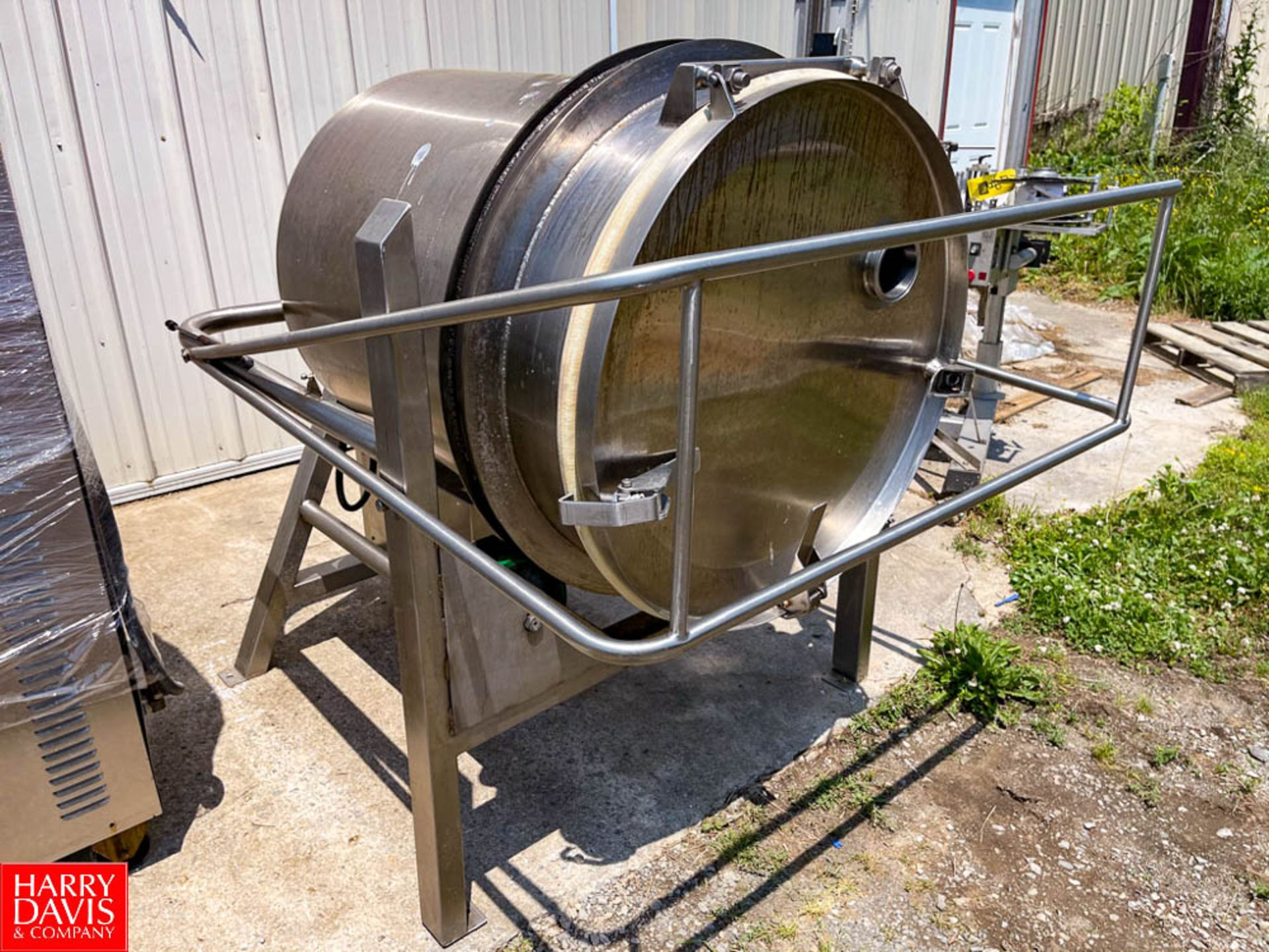 350 Pound Capacity S/S Rotary Butter Churn with 2 HP Motor and Lenze AC Tech Variable Frequency - Image 2 of 4