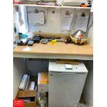 Spinette Centrifuge, ROSA Reader, ROSA Incubator, and Refrigerator