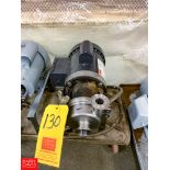 """Thomsen Centrifugal Pump, with .75 HP Motor and 1.5"""" X 1.5"""" S/S Head, Clamp Type"""