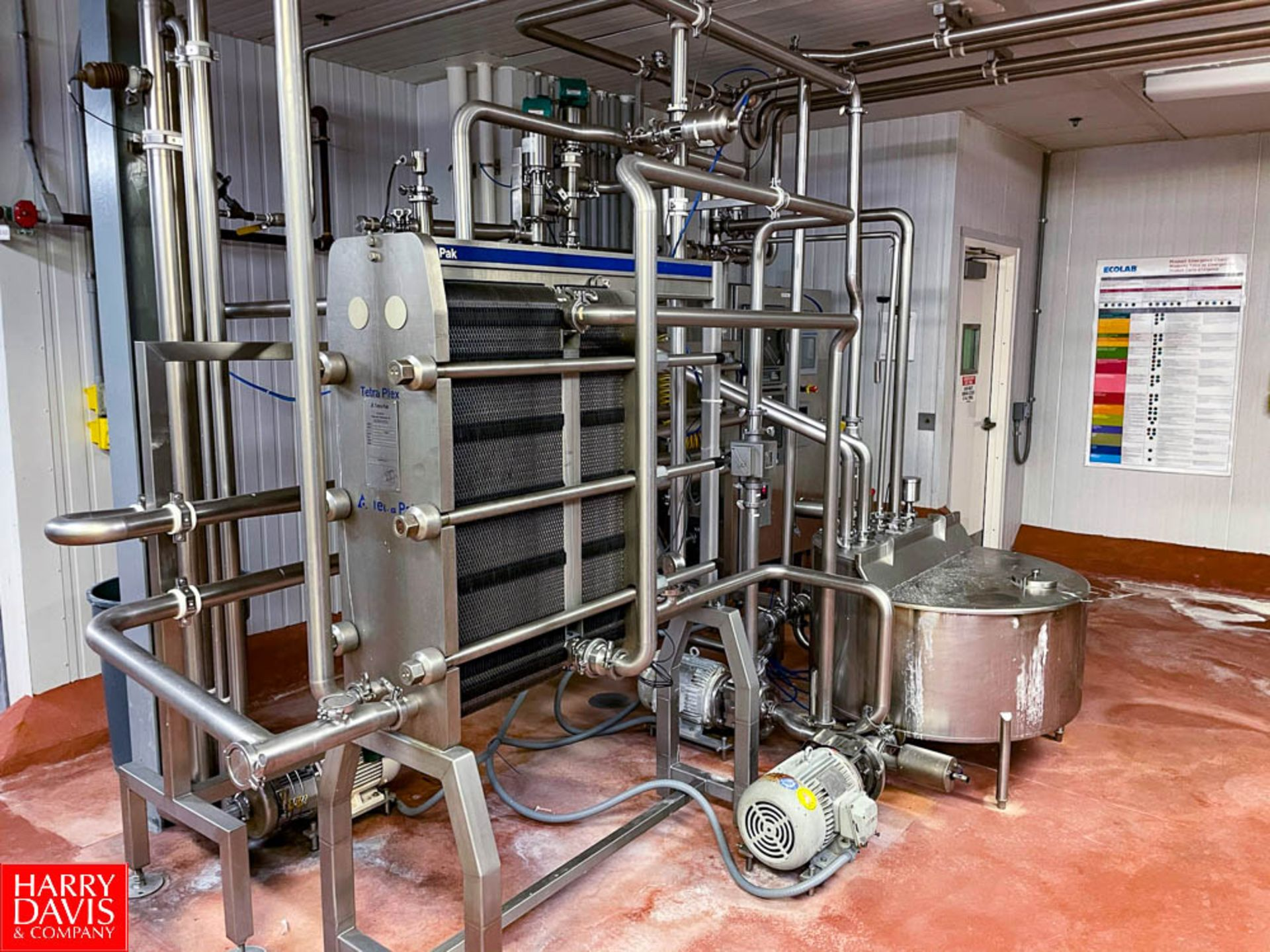 2008 Tetra Pak 36 GPM Pasteurizer Including Tetra Pak 3-Zone S/S Frame Plate Heat Exchanger, S/S - Image 6 of 6