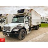 2017 Freightliner 20' Refrigerated Delivery Truck Model: M2106, 33,000 GVWR, Cummins IBS 6.7 280