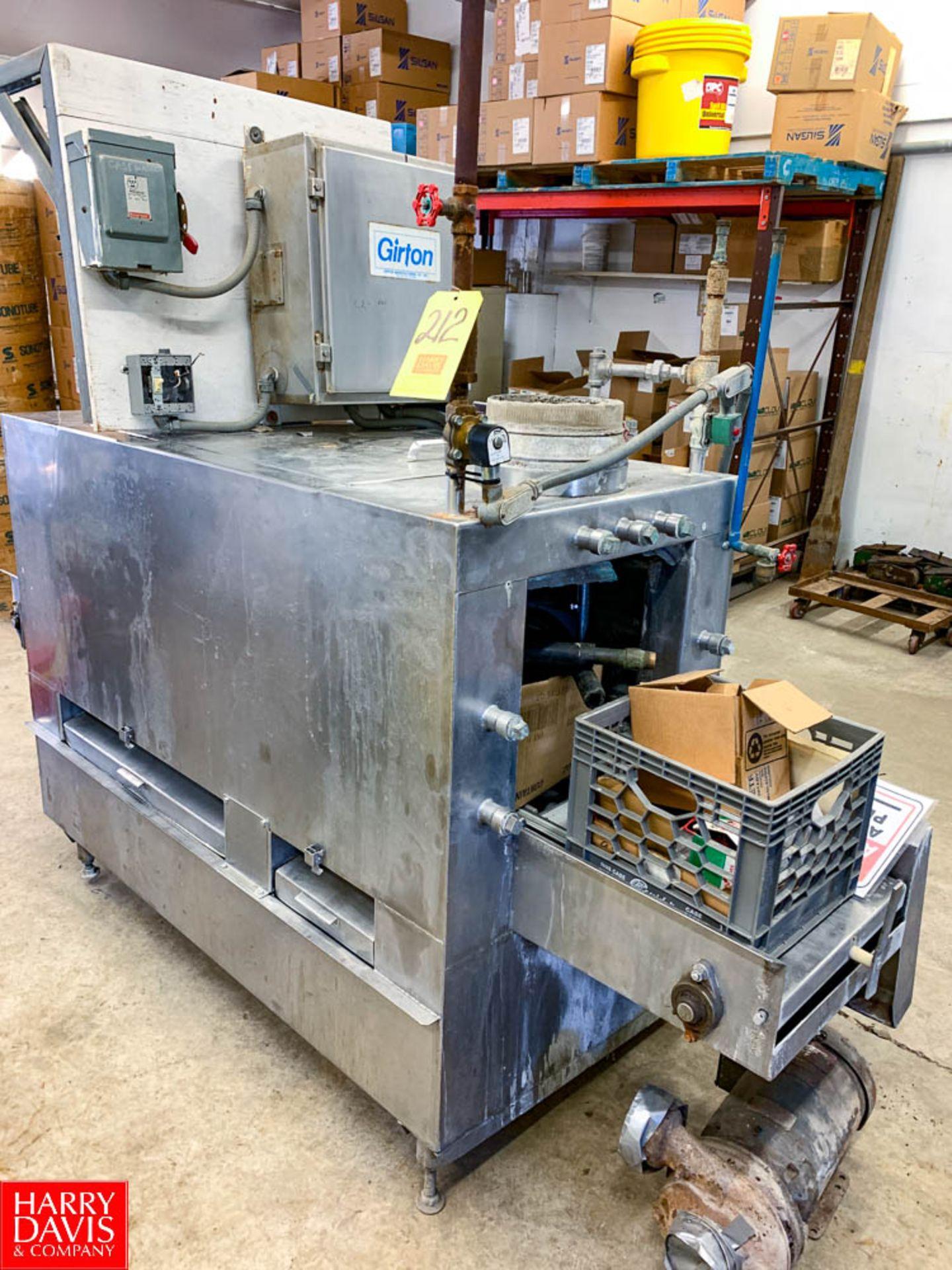 Girton S/S Case Washer Model: GC 10 , S/N: 97012001