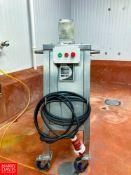 2008 Qualtech S/S Curd Mill,Model: BF-5925VA2 S/N: 04706-02, Located in:Brattleboro Rigging
