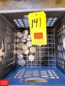 "1.5"" S/S Caps, Located in:Rutland Rigging Fee: $ 25"