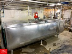 Sunset 735 Gallon S/S Freon Refrigerated Farm Tank Model: MC -735PX AE, S/N: 39MC436, with