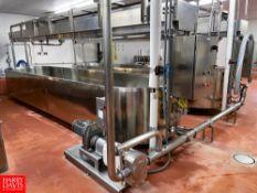 2008 Qualtech 1,500 Gallon Jacketed S/S Cheese Vat (Cook Vat # 2)