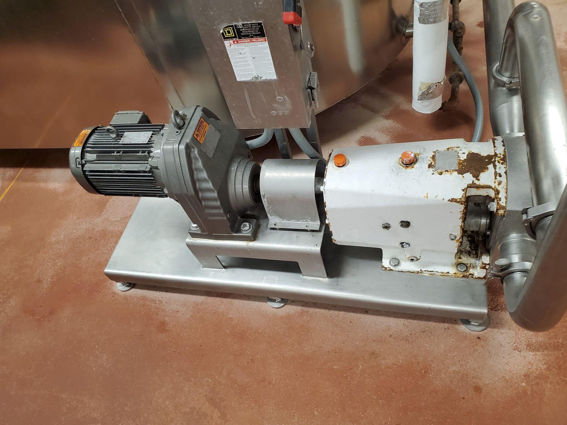 2008 Alfa Laval Curd Pump Model: SRU5/168/LS - Image 2 of 2