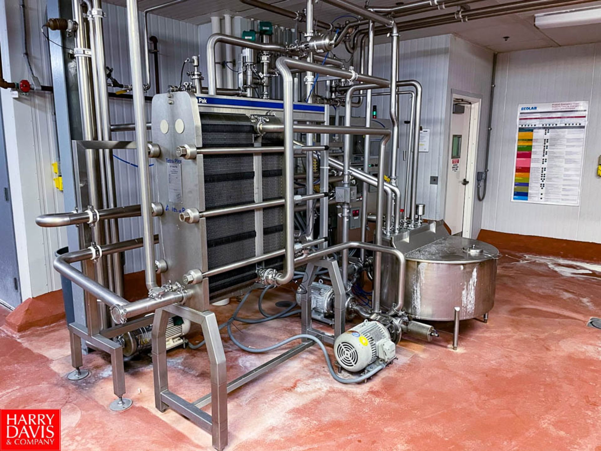2008 Tetra Pak 36 GPM Pasteurizer Including Tetra Pak 3-Zone S/S Frame Plate Heat Exchanger, S/S - Image 5 of 6
