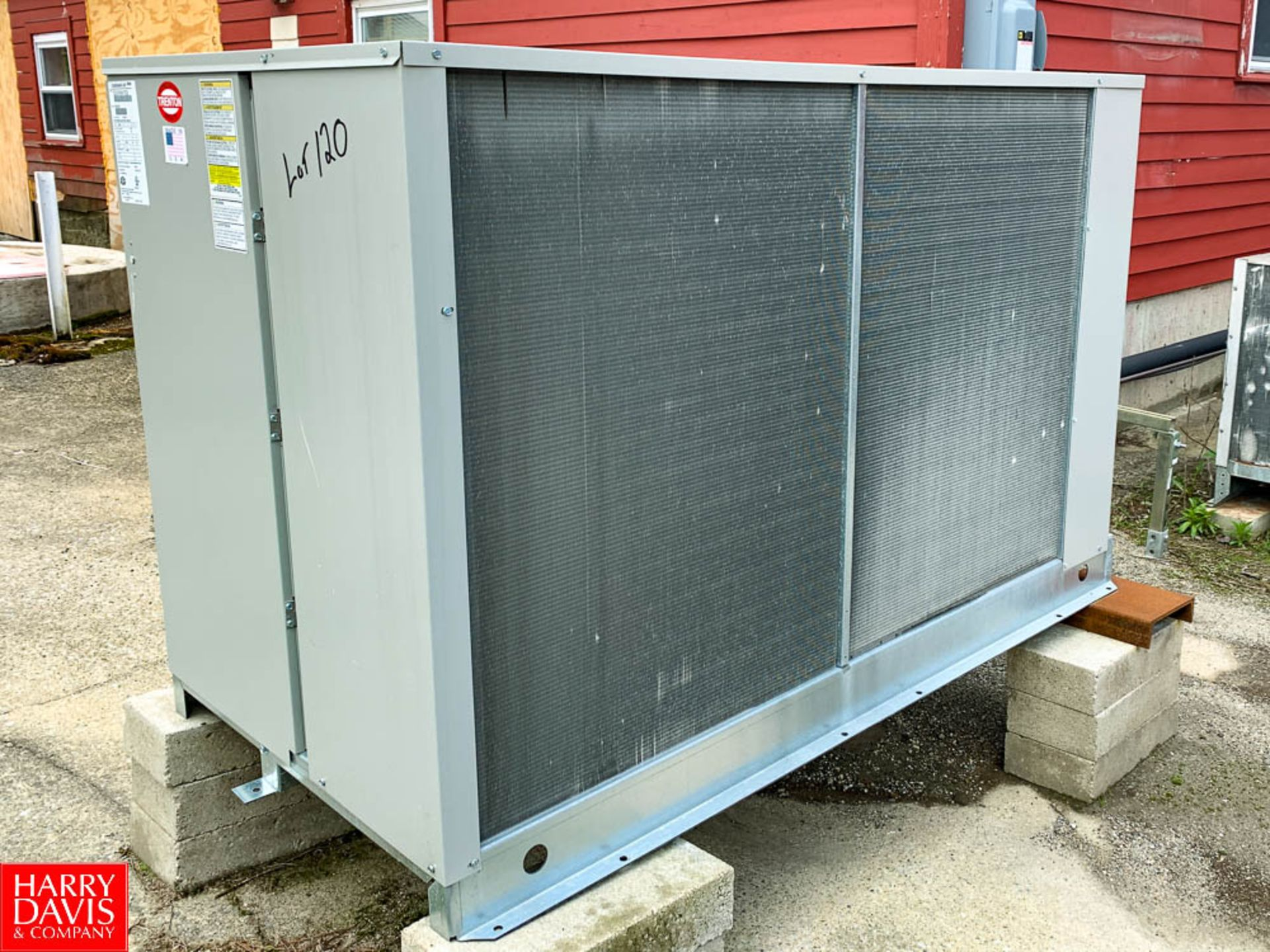 2019 Trenton Air Cooled Condensing Unit Model: TEZA076HSHTECB, S/N: 199204297, 450 PSI Working