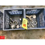 S/S Spring-Loaded Check Valve, Clamps, and Line Wrenches