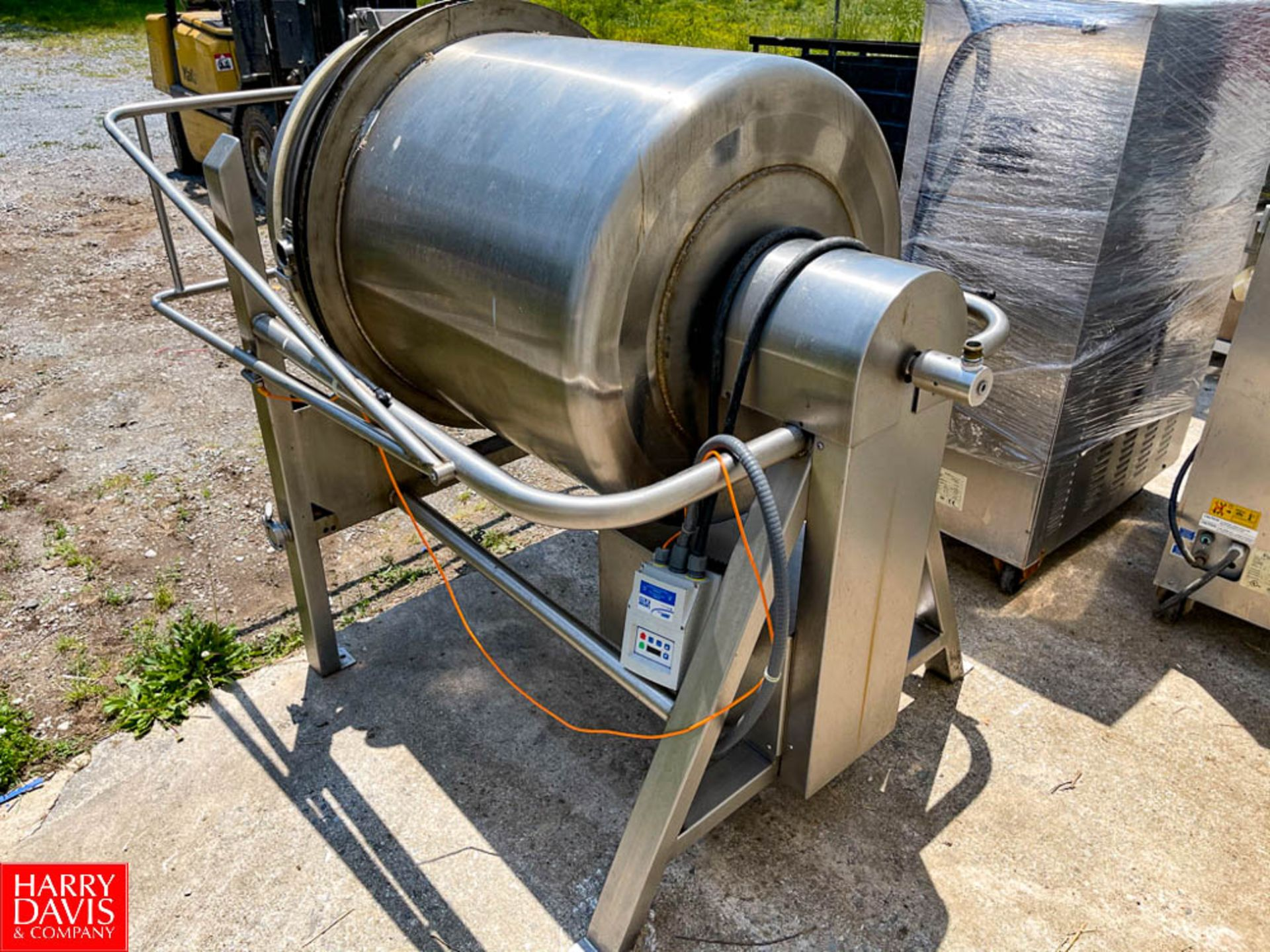 350 Pound Capacity S/S Rotary Butter Churn with 2 HP Motor and Lenze AC Tech Variable Frequency - Image 4 of 4