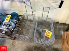 S/S Wash Baskets, Located in: Rigging Fee: $ 40
