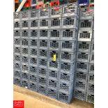 4-Gallon Plastic Milk Crates