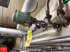 """Tri Clover 2"""" 3-Way S/S Air Valve, Clamp Type, Located in:Rutland Rigging Fee: $ 25"""