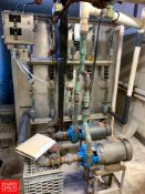 Girton Freon Refrigerated Ice Builder Model: KZ6086, S/N: 08053001, with S/S Coils, (2) Pumps and (
