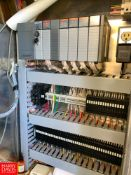 Allen Bradley SLC 5/03 CPU with Quick Panel HMI and Enclosure, Located in:Rutland Rigging Fee: $