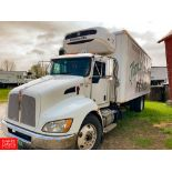 2013 Kenworth 20' Refrigerated Ice Cream Delivery Truck: Model T370, 33,000 GVWR, Paccar P1-8-270