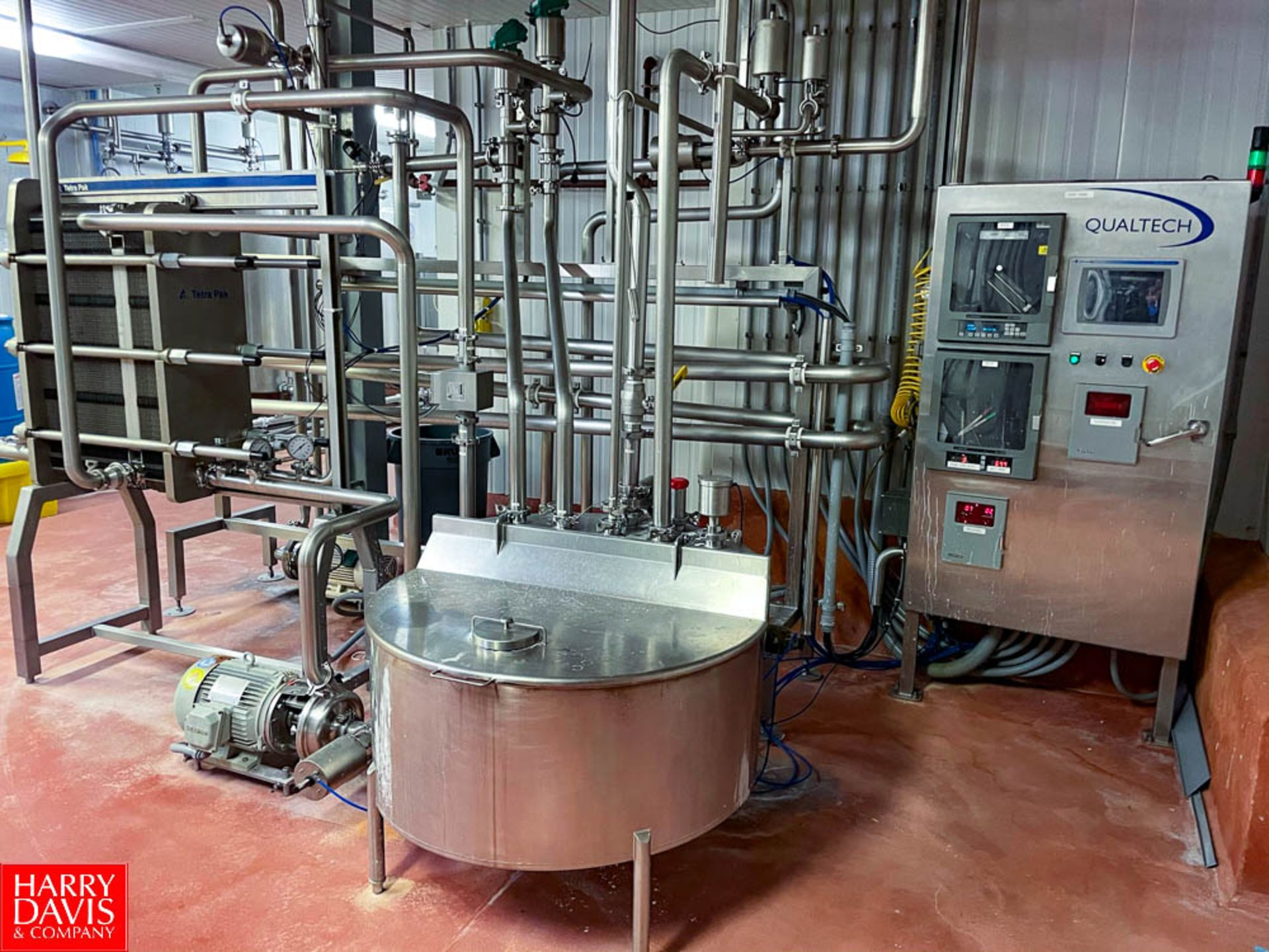 2008 Tetra Pak 36 GPM Pasteurizer Including Tetra Pak 3-Zone S/S Frame Plate Heat Exchanger, S/S - Image 3 of 6