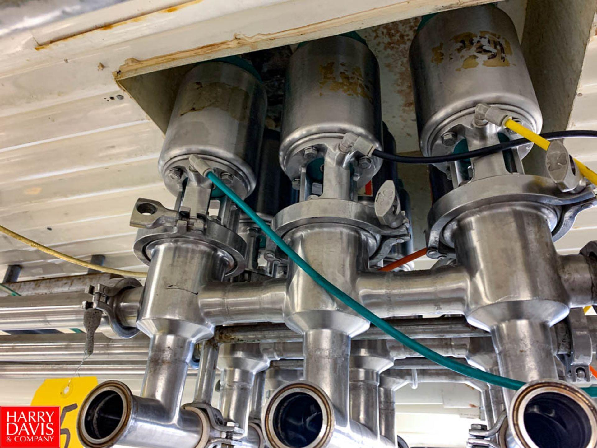"""Tri Clover 1.5"""" S/S Air Valves In Manifold"""
