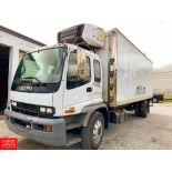 2005 Isuzu 22' Refrigerated Delivery Truck Model: FVR, 33,000 GVWR, Diesel Engine, Allison