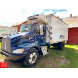 2012 Kenworth 18' Refrigerated Delivery Truck Model: T-270, 26,000 GVWR, with Paccar PX-8-300