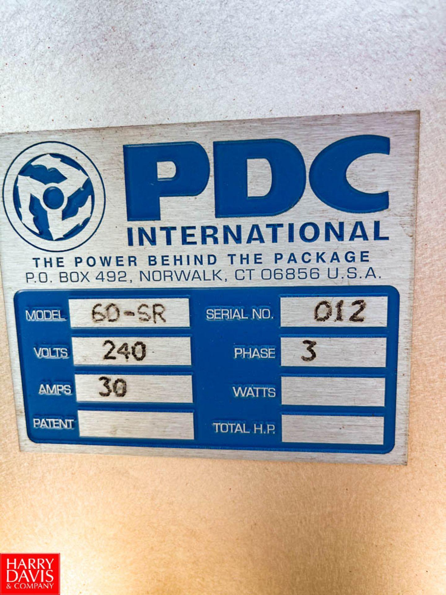 PDC Shrink Sleever Model: 60-SR : SN 012 Rigging Fee: $150 - Image 3 of 3