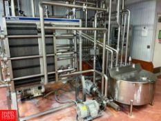 2008 Tetra Pak 36 GPM Pasteurizer Including Tetra Pak 2-Zone S/S Frame Plate Heat Exchanger