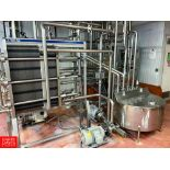 2008 Tetra Pak 36 GPM Pasteurizer Including Tetra Pak 3-Zone S/S Frame Plate Heat Exchanger, S/S