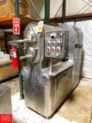 Cherry-Burrell 2-Barrel S/S Ice Cream Freezer, Model: VS 500, S/N: 4743