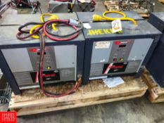 General 2,000 Plus 36 Volt Battery Chargers Rigging Fee: $100 Location: Irwin, PA