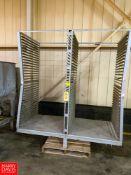 Dual S/S Tray Rack Rigging Fee: $75 Location: Irwin, PA