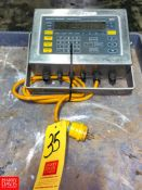 Weigh- Tronix S/S Digital Scale Model: WI-127 Rigging Fee: $75 Location: Irwin, PA