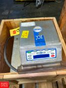 "Loma IQ 2 S/S Metal Detector 8"" x 8"" Aperture Rigging Fee: $75 Location: Irwin, PA"