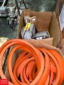 S/S Electrical Boxes, Lamps, Gaskets, and Electrical Components Rigging Fee: $75 Location: Irwin,