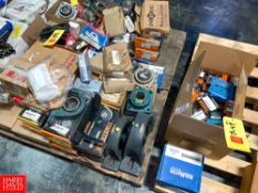 NEW (+) 200 Timken, Dodge, SKF, LINK Belt and Other Bearings and Pillow Blocks Rigging Fee: $75