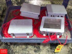 Plastic Control Boxes Rigging Fee: $50 Location: Irwin, PA