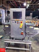 "2012 Mettler Toledo Safeline S/S X Ray Metal Detector, Model: R20V, S/N: 121ZR20V2556, 13"" Wide Belt"
