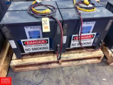 General Battery 24 Volt Battery Chargers Rigging Fee: $100 Location: Irwin, PA