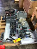 Allen Bradley Size 2 Starters, MCC Disconnects, Safety Switch, and Covers Rigging Fee: $75 Location: