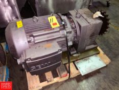NEW Euro Drive Motor, with Gear Reducing Drive Rigging Fee: $75 Location: Irwin, PA